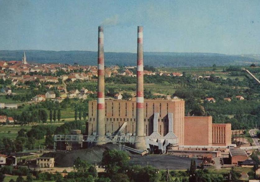 Vue générale de la centrale